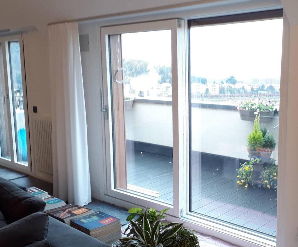 Le finestre scorrevoli a Vicenza